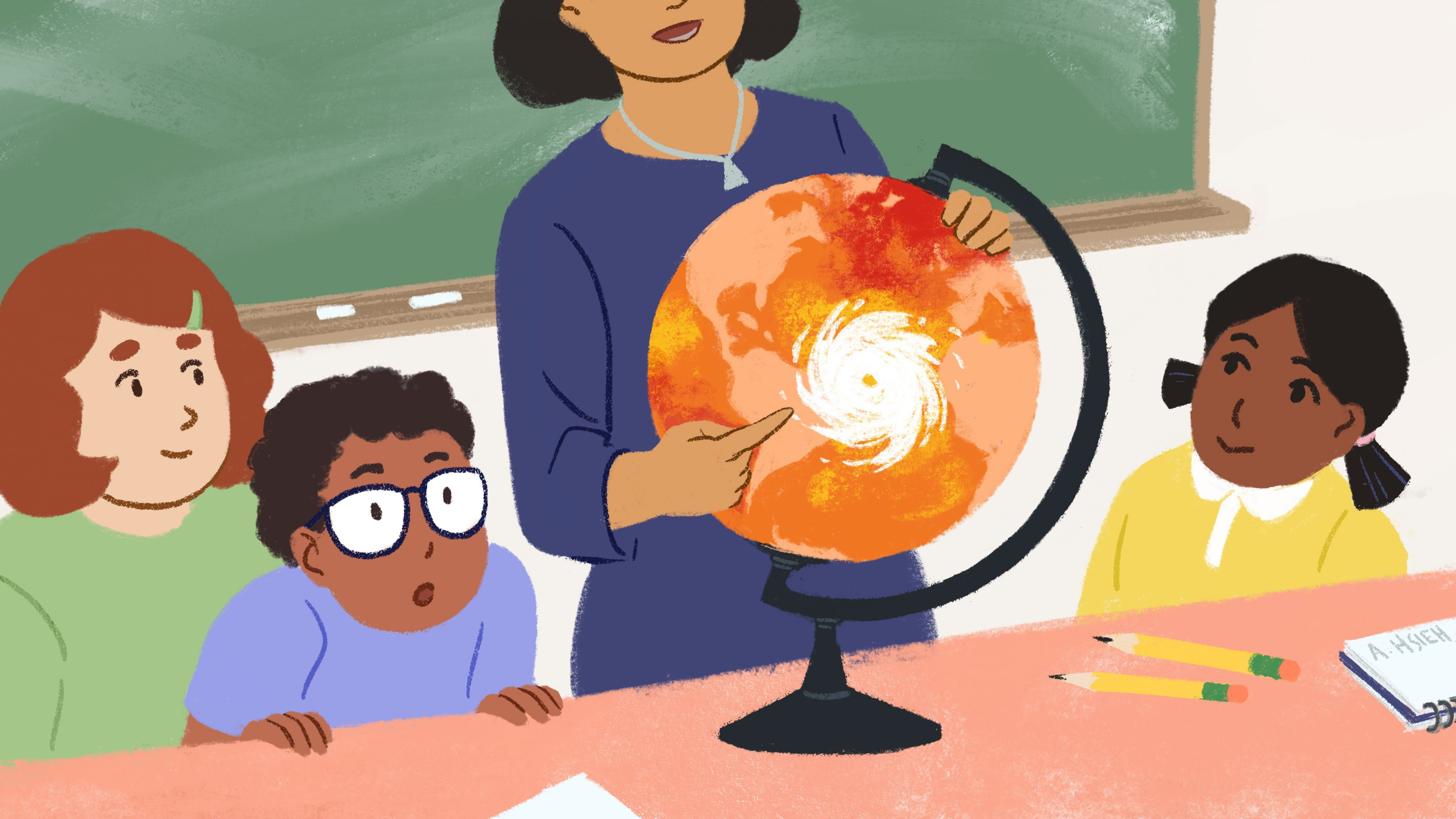Most teachers don't teach climate change; 4 in 5 parents wish they did
