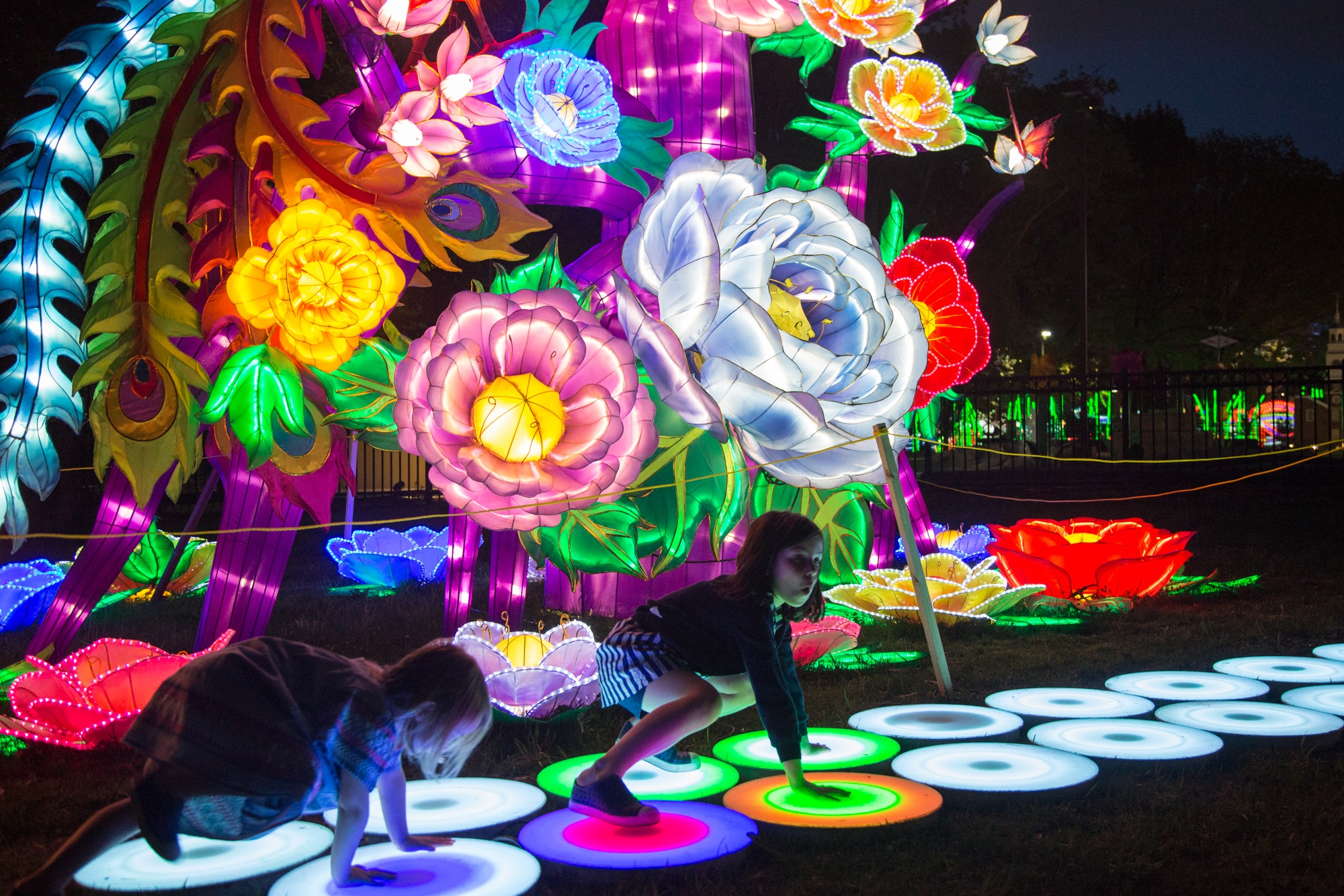 Philadelphia's Chinese Lantern Festival: Behind the scenes