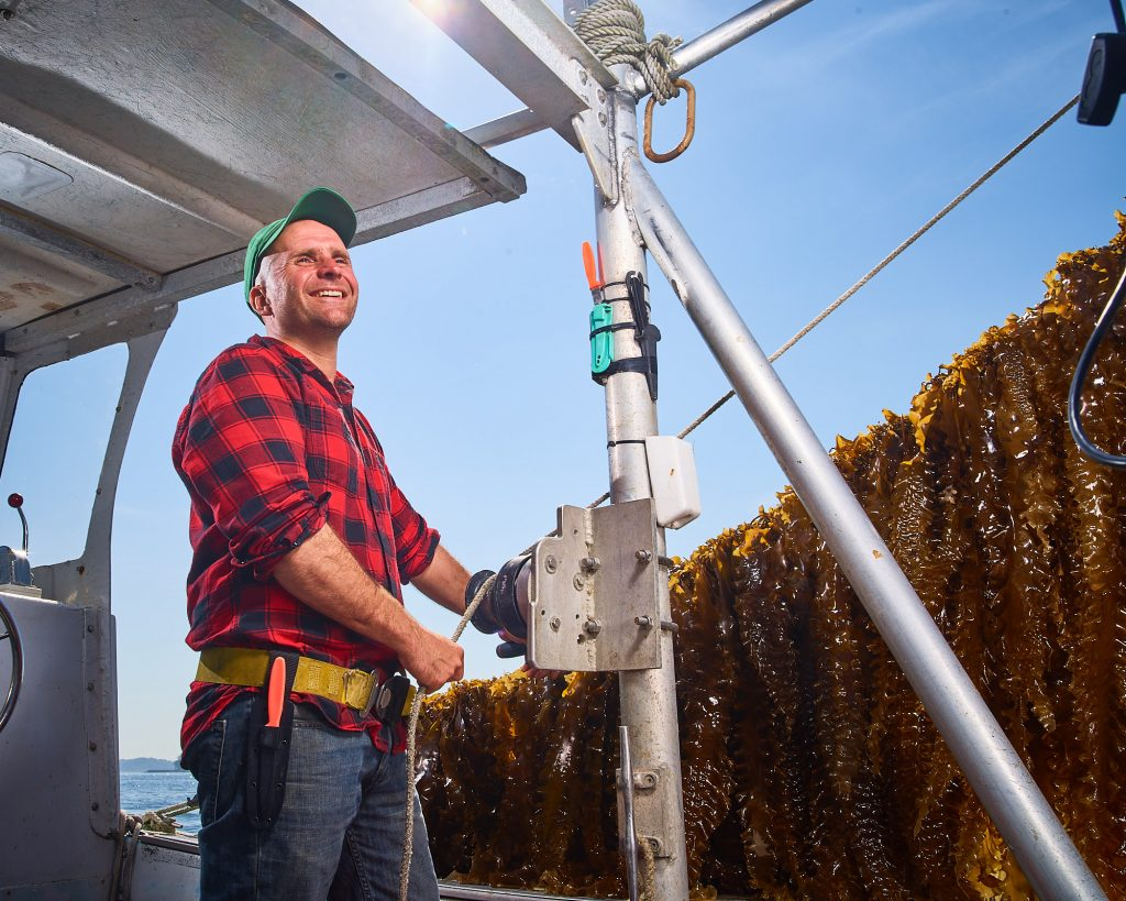 Bren Smith is a seaweed farmer and co-founder of GreenWave, a nonprofit that supports and trains more ocean farmers. Photo provided by GreenWave