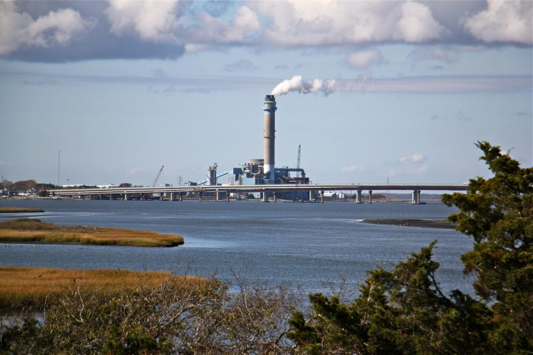 BL England generating station in Marmora, Upper Township, New Jersey. (Emma Lee/WHYY)