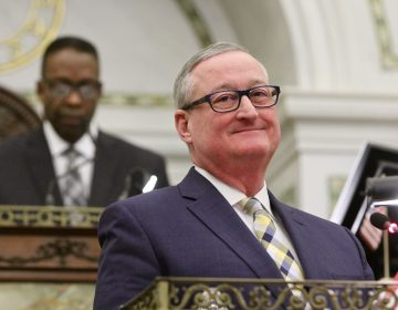 Philadelphia Mayor Jim Kenney at City Council. (Emma Lee/WHYY)
