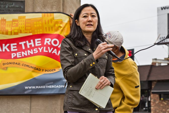 Jennifer Lee is a professor at the Beasley School of Law at Temple University. (Kimberly Paynter/WHYY)