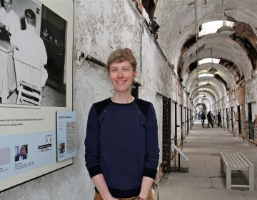 Annie Anderson, manager of research and public programming at Eastern State Penitentiary, has uncovered new information about LGBTQ prisoners and incorporated it into the attraction's audio tour.