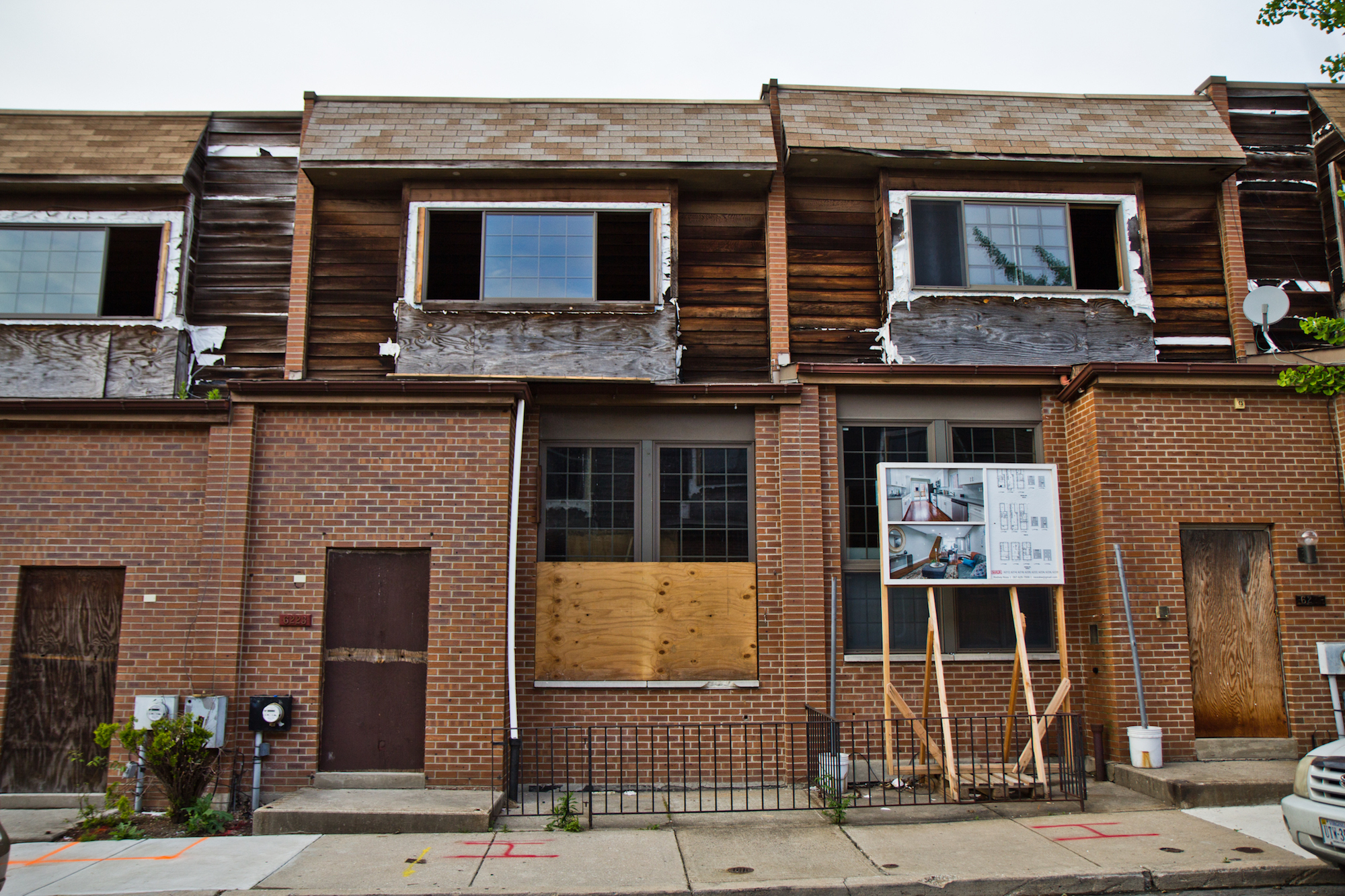 After rehab, homes destroyed by MOVE bombing find buyers - WHYY