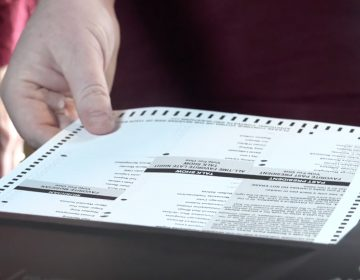 Montgomery County voters will using a new voting system this year. Paper ballots will be filled out and then fed into a scanning machine where they will be read and stored. (Courtesy of Montgomery County administrative office)
