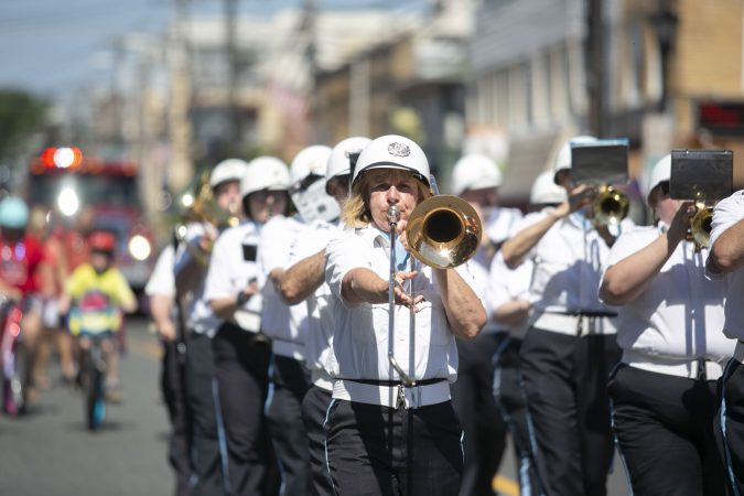 Glassboro commemorates fallen service member by hosting a memorial day parade. The parade began more than 100-years ago. (Miguel Martinez/WHYY)
