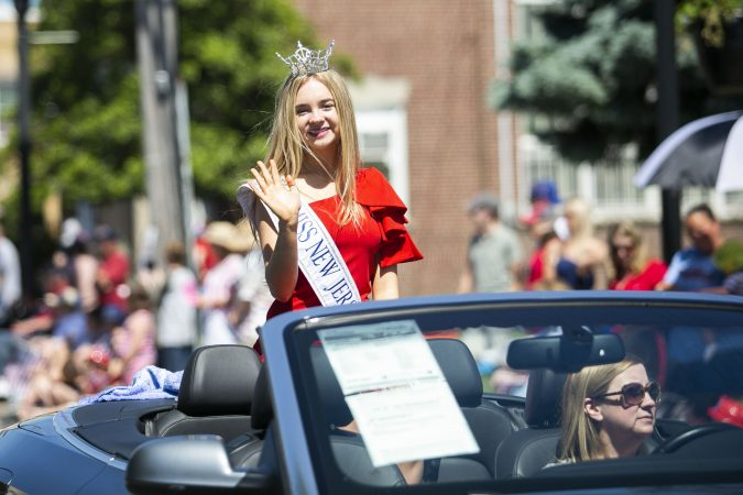 2019 Memorial Day parade in Glassboro, N.J.(Miguel Martinez/WHYY)