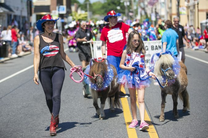 2019 Memorial Day parade in Glassboro, N.J. (Miguel Martinez/WHYY)