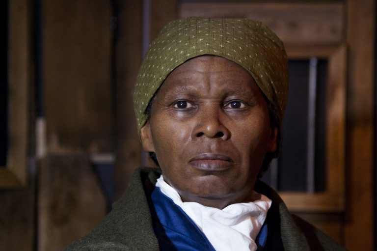 A wax likeness of the renowned abolitionist and conductor of the Underground Railroad Harriet Ross Tubman is unveiled at the Presidents Gallery by Madame Tussauds in Washington in celebration of Black History Month, Tuesday, February 7, 2012.  (Manuel Balce Ceneta/AP Photo)