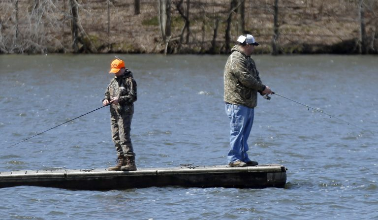 On the Sunday of Memorial Day weekend, and on July 4th Pennsylvanians are allowed to fish without a license. (Keith Srakocic/AP Photo)