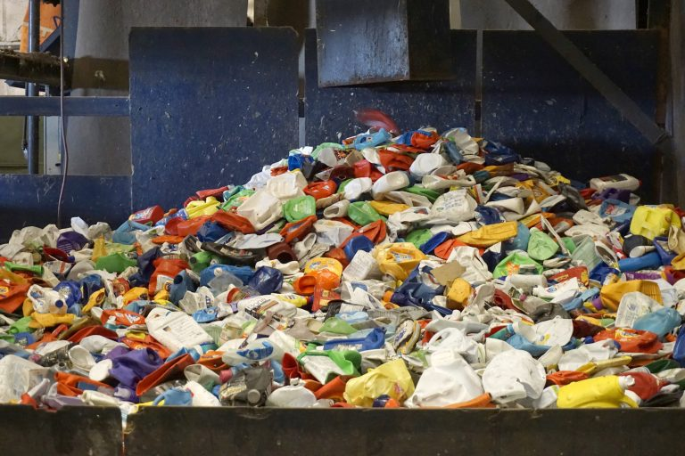 Recycling systems are facing challenges in many places, but some experts say it's still growing. And they say dual-stream recycling _ in which you separate recyclables before they're collected _ is hitting its stride. (Institute of Scrap Recycling Industries via AP)