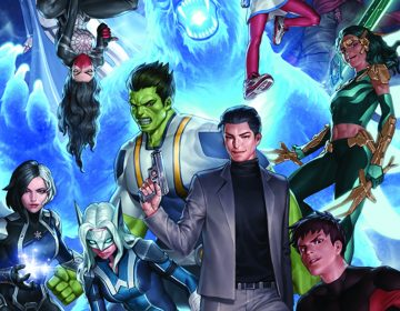This image provided by Marvel shows the cover of the first issue in
