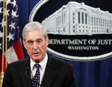 Special counsel Robert Mueller speaks at the Department of Justice Wednesday, May 29, 2019, in Washington, about the Russia investigation. (Carolyn Kaster/AP Photo)