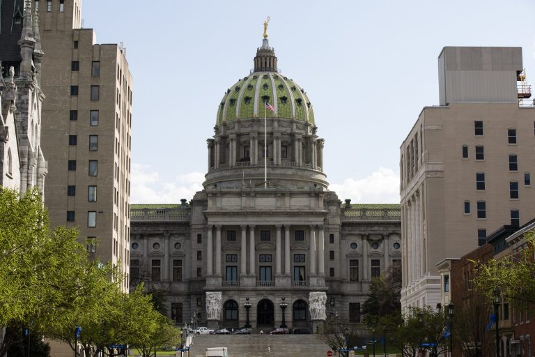 Pennsylvania Capitol in Harrisburg, Pa.