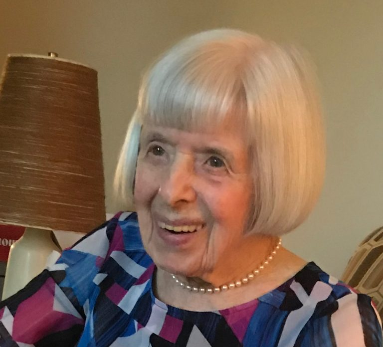 Helen Oakes in a recent photo. (Courtesy of The Notebook)