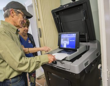 Centre County, Pennsylvania introduced new Electronic Systems & Software voting machines in the primary on May 21, 2019. (Min Xian/WPSU)