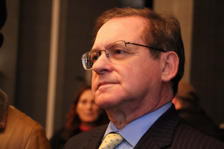 Democratic mayoral candidate Alan Butkovitz. (Emma Lee/WHYY)