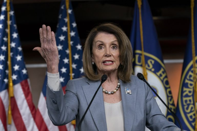 Speaker of the House Nancy Pelosi, D-Calif (AP Photo/J. Scott Applewhite)