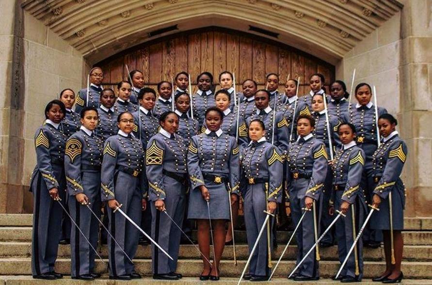 West Point graduates largest class of black women