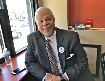Philadelphia mayoral candidate Anthony Williams. (Jennifer Lynn/WHYY)