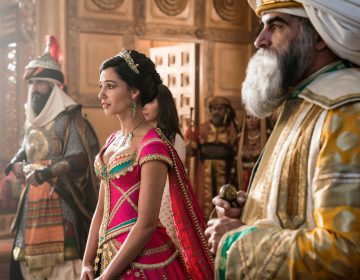 Naomi Scott plays Jasmine in the new live-action Aladdin movie. The character was the first official Disney princess of color in the 1992 animated version of the film. (Daniel Smith/Disney Enterprises, Inc.)