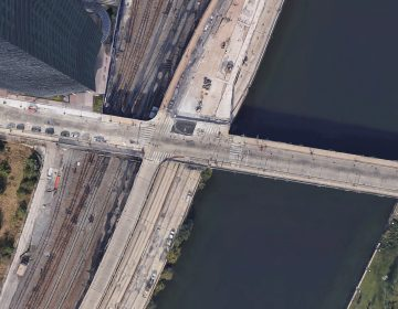 The Walnut Street ramp onto I-76 will be closed for 25 days. (Google Maps)