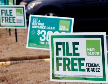 The IRS Free File program is under scrutiny after reports that tax-prep companies made it difficult for people to actually their file taxes for free (Rogelio V. Solis/AP)