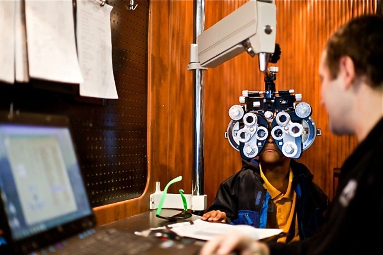 """Three children in 100 have amblyopia or """"lazy eye,"""" a vision-robbing, brain-connected disorder that typically affects just one eye. (Brad Larrison for WHYY)"""