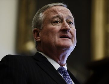 Philadelphia Mayor Jim Kenney speaks during a news conference at City Hall in Philadelphia. (Matt Rourke/AP Photo)