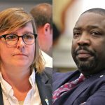 Lauren Vidas challenged incumbent Councilman Kenyatta Johnson in Philadelphia's 2nd District. (Emma Lee/WHYY)