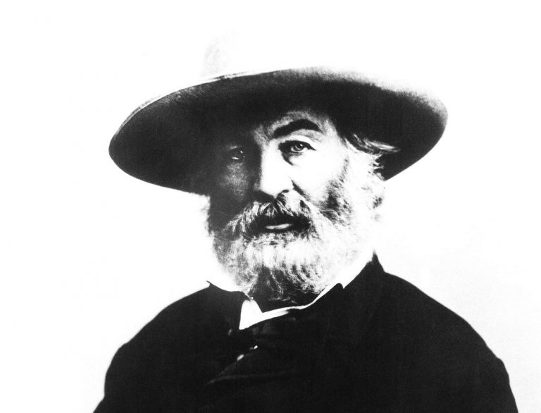An undated photo of American poet Walt Whitman who died on March 26, 1892. (AP Photo)