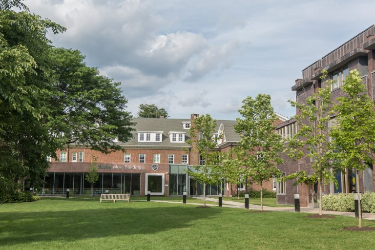 The Shipley School, in Bryn Mawr benefitted from more than $500,000 in OSTC and EITC scholarship funds in 2017-18. It reported serving zero low-income students that year. (Emily Cohen for WHYY)