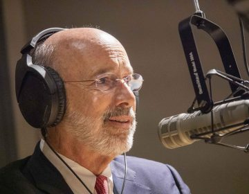 Keystone Crossroads hosted a live interview with Pa. Gov. Tom Wolf (Joanne Cassaro/WITF)