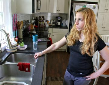 Jodi Cutaiar never liked the taste of the well water at her Sellersville home. Now she knows it is contaminated with PFAS, a chemical used in fire retardant foam. (Emma Lee/WHYY)