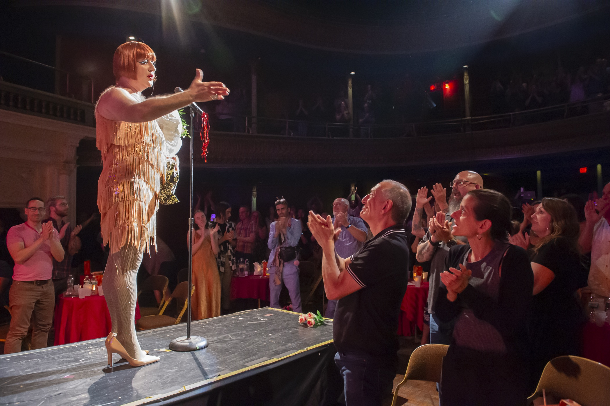 Fans flock to the Troc for its final performance