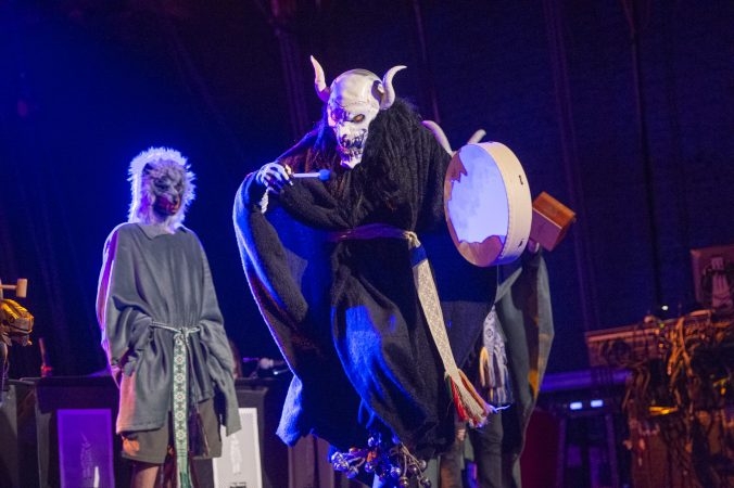 A performance called The Fertility Ritual. (Jonathan Wilson for WHYY)