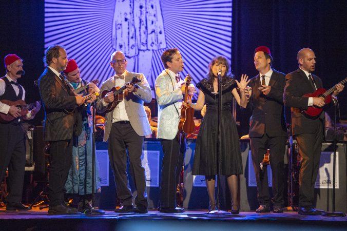 The Philadelphia Ukulele Orchestra. (Jonathan Wilson for WHYY)