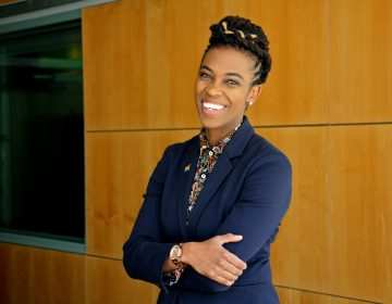 Amber Hikes is the executive director of the Mayor's Office of LGBT Affairs for the City of Philadelphia. (Emma Lee/WHYY)
