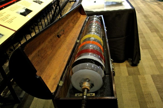 The Franklin Institute collection includes Benjamin Franklin's glass armonica. (Emma Lee/WHYY)