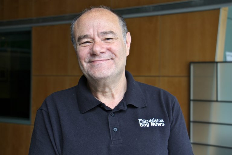 Mark Segal, publisher of the Philadelphia Gay News. (Emma Lee/WHYY)