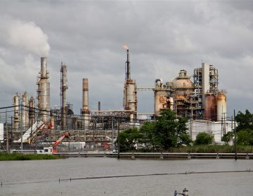 Philadelphia Energy Solutions refinery in South Philadelphia. (Emma Lee/WHYY)