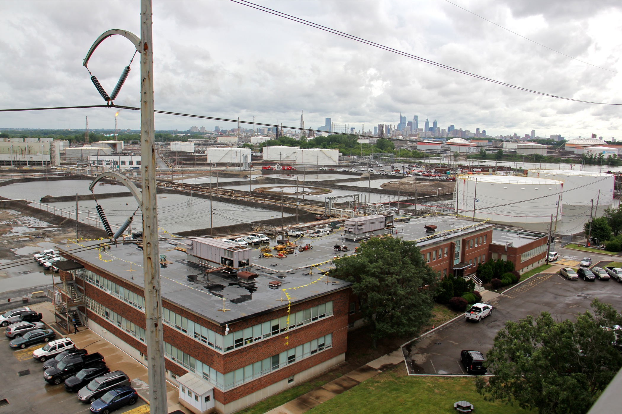 What happens next, now that the refinery's future seems wide open?
