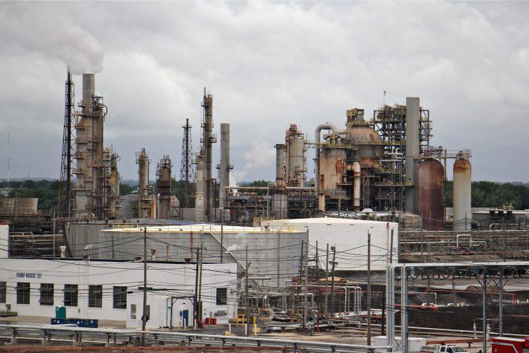 Philadelphia Energy Solutions refinery in South Philadelphia. (Emma Lee/WHYY)