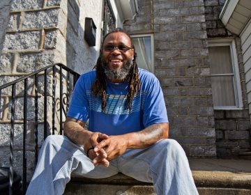 Ralph at his home in West Philadelphia. (Kimberly Paynter/WHYY)