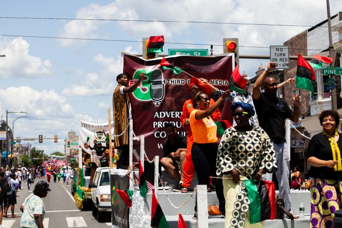The Juneteenth Parade in West Philadelphia