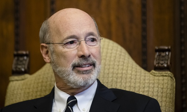 Wolf's office hasn't said what he plans to do with the bill. (Matt Rourke/AP Photo)