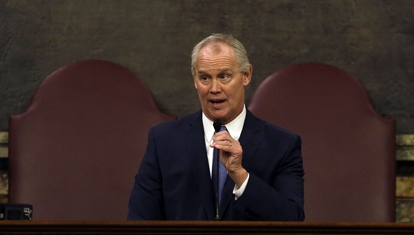 An impromptu coalition of Democrats and some Republicans managed to sink a major bill at the last minute. House Speaker Mike Turzai and other GOP leaders were dismayed. (AP Photo, file)