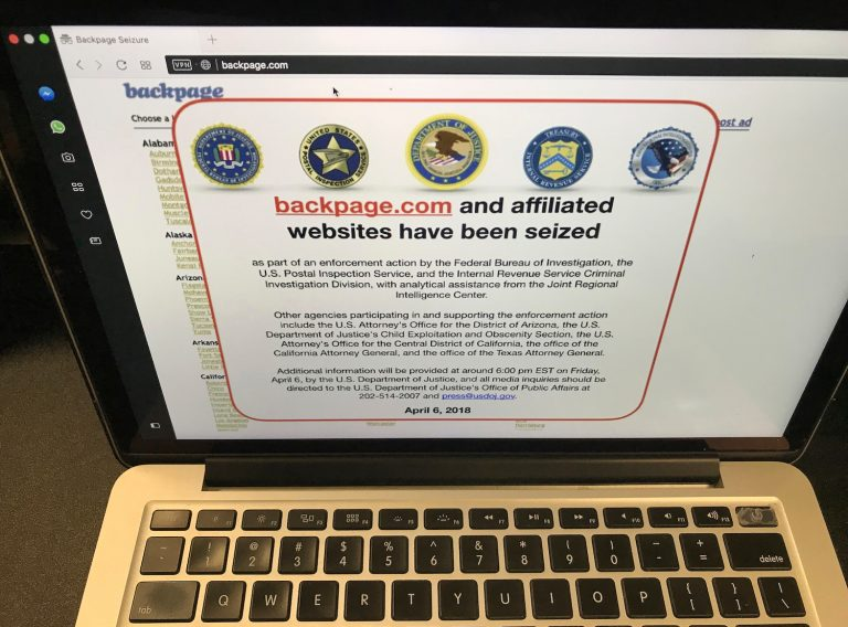 Delaware's LLC laws allowed Backpage.com to renew its license, despite the federal indictment accusing Ferrer and six other executives of facilitating prostitution, money laundering, and criminal conspiracy. (Damian Dovarganes/AP Photo)