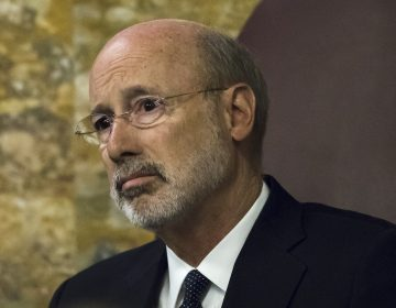 Governor Tom Wolf says he doesn't want to get rid of the General Assistance program, but he's navigating tricky negotiations with Republicans. (Matt Rourke/AP Photo)