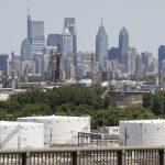 The Philadelphia Energy Solutions Refining Complex in Philadelphia is shown Wednesday, June 26, 2019. (AP Photo/Matt Rourke)
